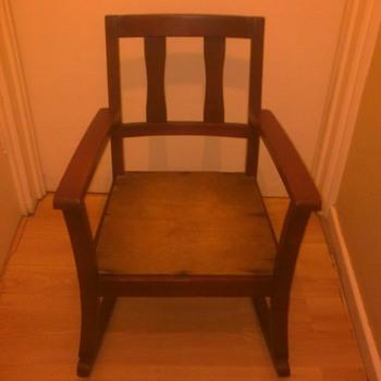 My childhood rocking chair