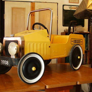 1838 Jalopy Utility  - Model Cars