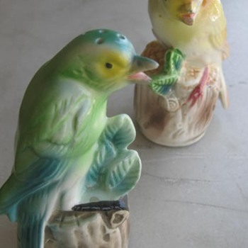 1960's tweeting bird S&P shakers - Figurines