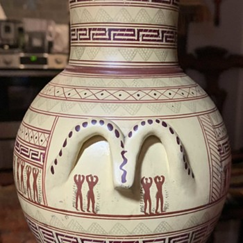 Replica Amphora from the Geometrical Period [8th century BC] - Pottery