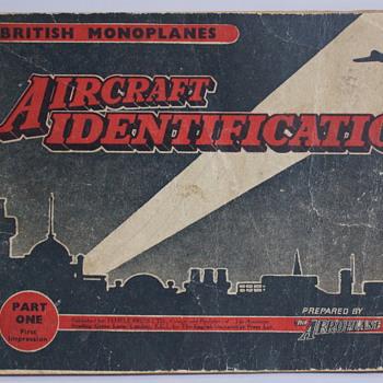 Aircraft Identification - British Monoplanes - Part 1 - Books