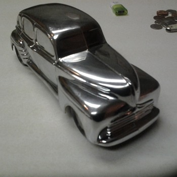 1/25Ford Mercury Promo Diecast mystery chrome car. - Model Cars