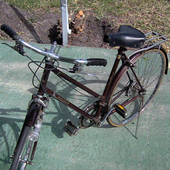 1970 Raleigh Ladies Sprite model bicycle