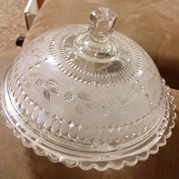 Butter Dish  - Glassware