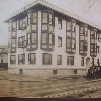 GENEVIEVE HOTEL, ABOUT 1910, Photo. SEATTLE, ENLARGE,UNAPPEALING!! - Photographs