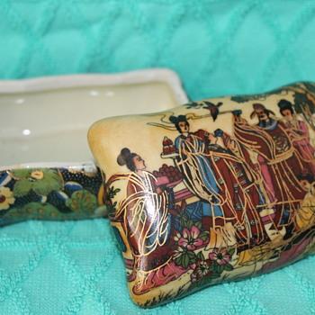 Chinese ceramic box - Asian