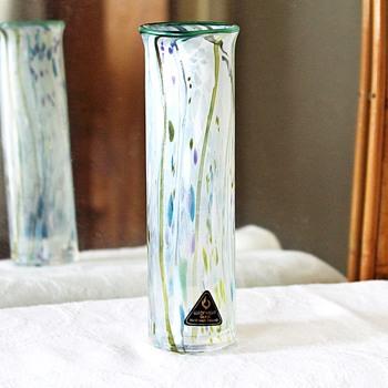 Isle of wight Kyoto Pine vase - Art Glass