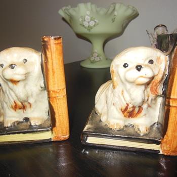 Vintage Made in Japan ceramic bookend