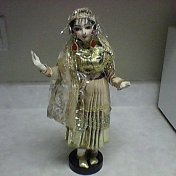 LARGE INDIA DOLL - Asian