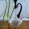 Art Deco decanter - probably Glimma glassworks, Sweden.
