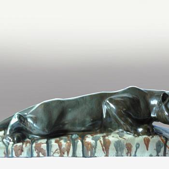 Leon elchinger & alfred marzolff - lioness - Animals