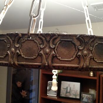 My mom's chandelier - Lamps