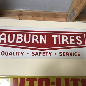 Auburn Tires  signs  - Signs