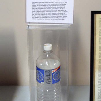 McCartney used water bottle-1989 - Music Memorabilia