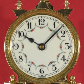 Jahresuhrenfabrik (Schatz) 400 Day Clock Ca. 1949 - Clocks