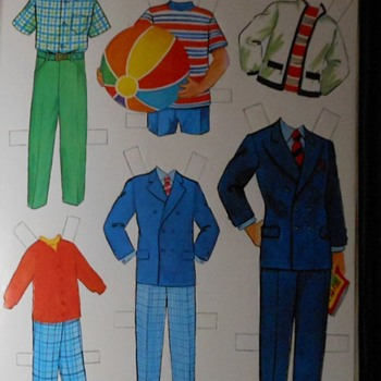 Nanny and the Professor Paper Doll Clothing - Dolls