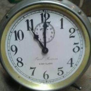 Paul Revere 8 Day Alarm clock - 1912 - Clocks
