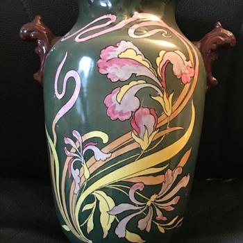 SF & Co Royal Delft Vase S Fielding - Pottery