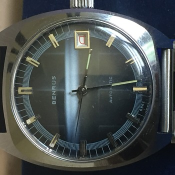 BENRUS 21 Jewel Watch What is it? - Wristwatches