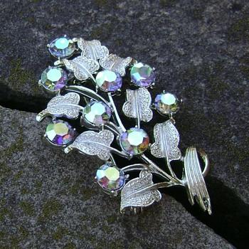 Vintage Coro Brooch - 300th Post - Costume Jewelry