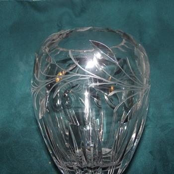 my new vase - Glassware