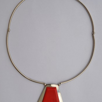 Jakob Bengel Art Deco Necklace - 1930's.