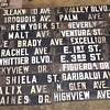 Early 1900s Los Angeles Porcelain Enamel Street Signs