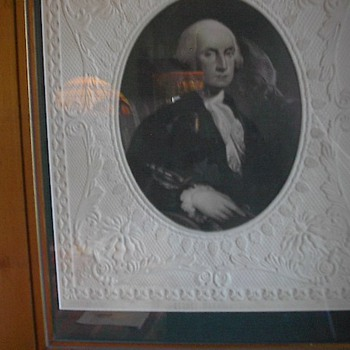 Rare George Washington Mezzotint by T. Doney