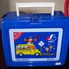 Defucnt MONTREAL EXPOS Stundent Day Promo Give Away YOUPPI NABISCO SHREDDIES SCHOOL SAFETY LUNCHBOX