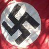 """NAZI BANNER WW2 """"Taken by Russian soldier from BERLIN' 1945."""