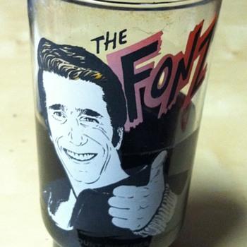 Fonz Dr Pepper Glass 1977 - Kitchen