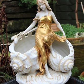Art Nouveau Shell Figure - Art Nouveau