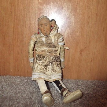 Ethel Washington eskimo doll - Dolls