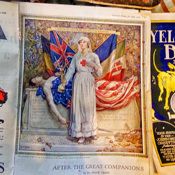 2 World War 1 Prints: Saturday Evening Post - Military and Wartime