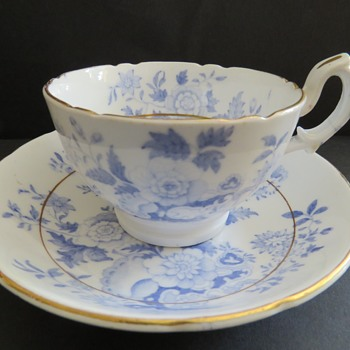 Antique Cup & Saucer marked H&H - Hilditch & Hopwood? - China and Dinnerware