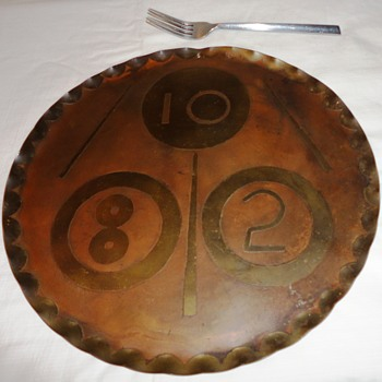 Handmade Copper Art Plate - Fine Art