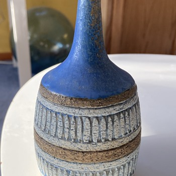 Beautiful Norwegian ? Vase  - Pottery