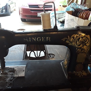 Industrial Singer Treadle - Sewing