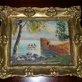 My Favorite vintage painting historic?