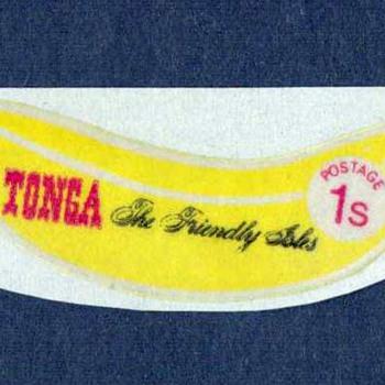 """1972 - Tonga - """"Banana"""" Postage Stamp - Stamps"""