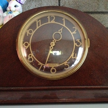 Seth Thomas clock. Looking for info - Clocks