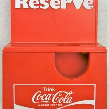 Coca Cola Reserve. Any ideas? - Coca-Cola