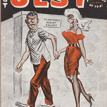 Humorama Pin up Gag Digests collection Jim Linderman - Paper