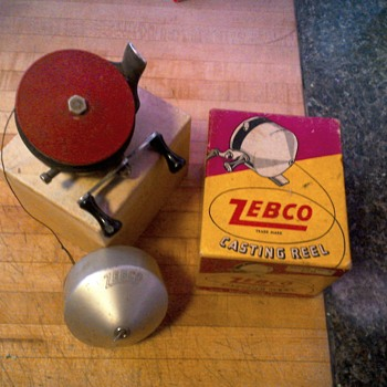 Zebco origonal reel with box