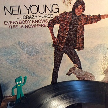 Neil was Young ,bold as the  Canadian north  - Records