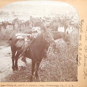 Spanish American War/ Phillipine Insurrection stereoviews c. 1898
