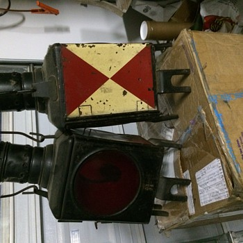 Antique Railroad Lamps