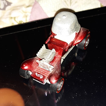 1969 Hot wheels Red Baron White interior from China - Model Cars