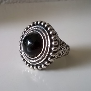 An Interesting Sterling Silver Ring, Thrift Shop Buy For $20...But, Who Made It?