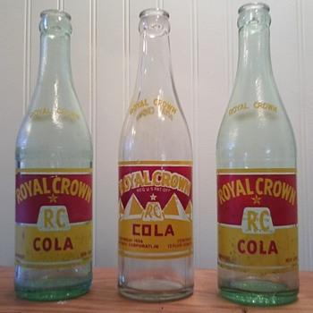 Royal Crown Cola - Bottles